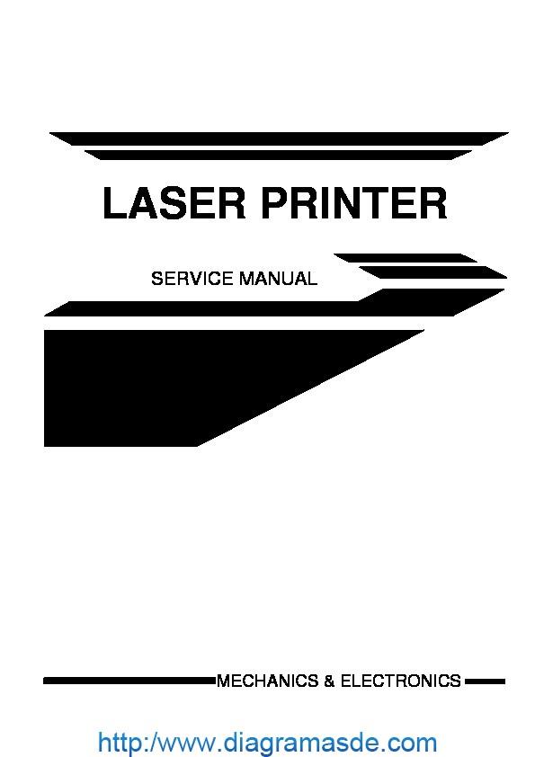 Brother hl-2060 Manual de Servicio pdf Brother