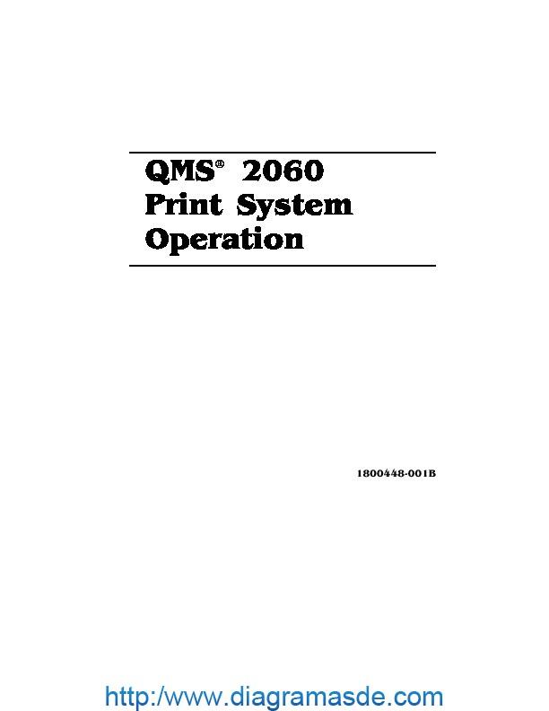 Konica Minolta QMS 2060 Print System Operation pdf Konica