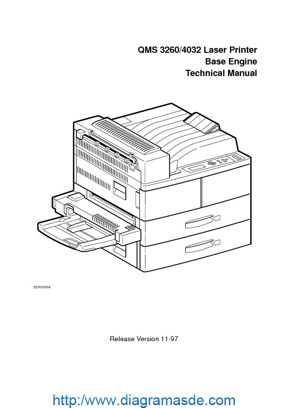 Konica Minolta QMS 3260-4032 chap1to10 Manual de Servicio