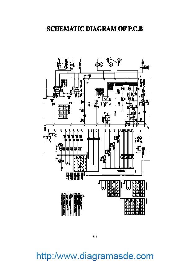 Diagrama de Microondas LG modelo MG-556EL.pdf LG-GOLDSTAR