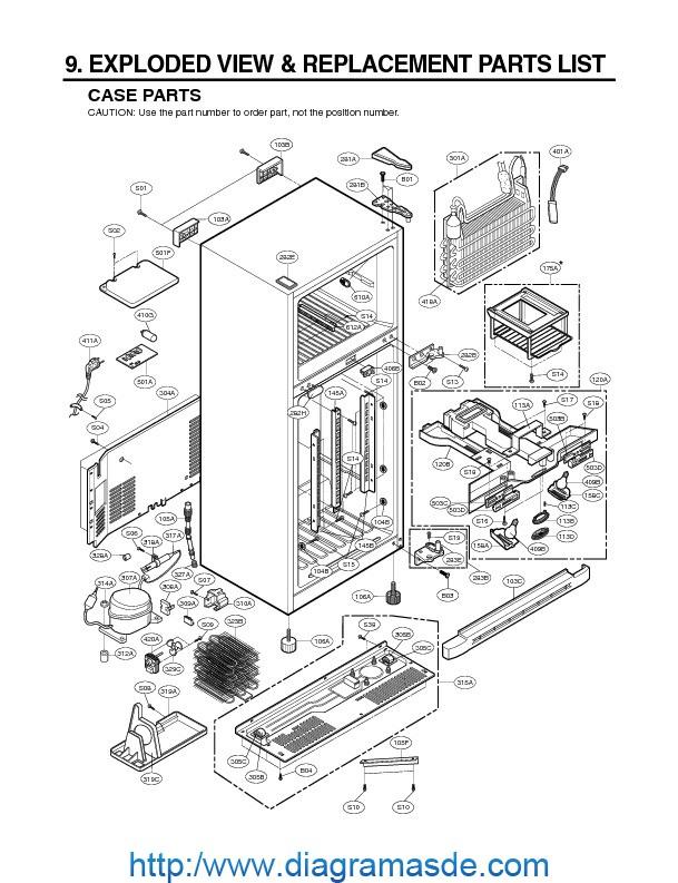 Diagrama Electrico De Refrigerador General Electric