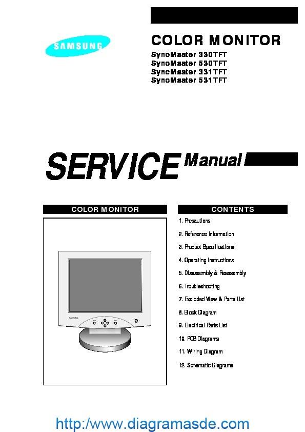 Moni SyncMaster 330.PDF Samsung Moni SyncMaster 330