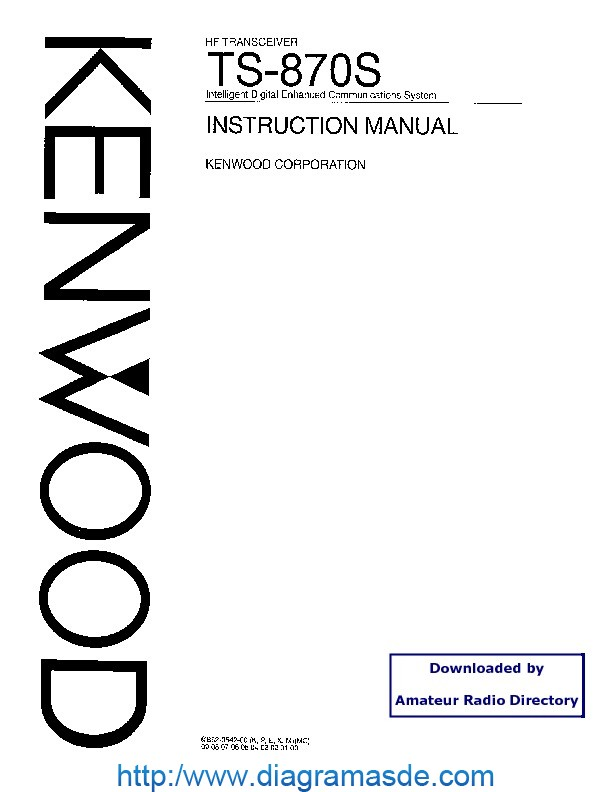 Kenwood TRIO TS870 HF Tranciever Manual.pdf Kenwood