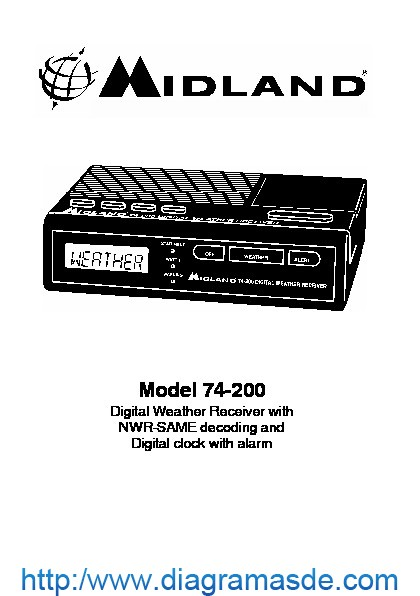 Midland 74 200 VHF Digital Weather Alert Radio Manual.pdf