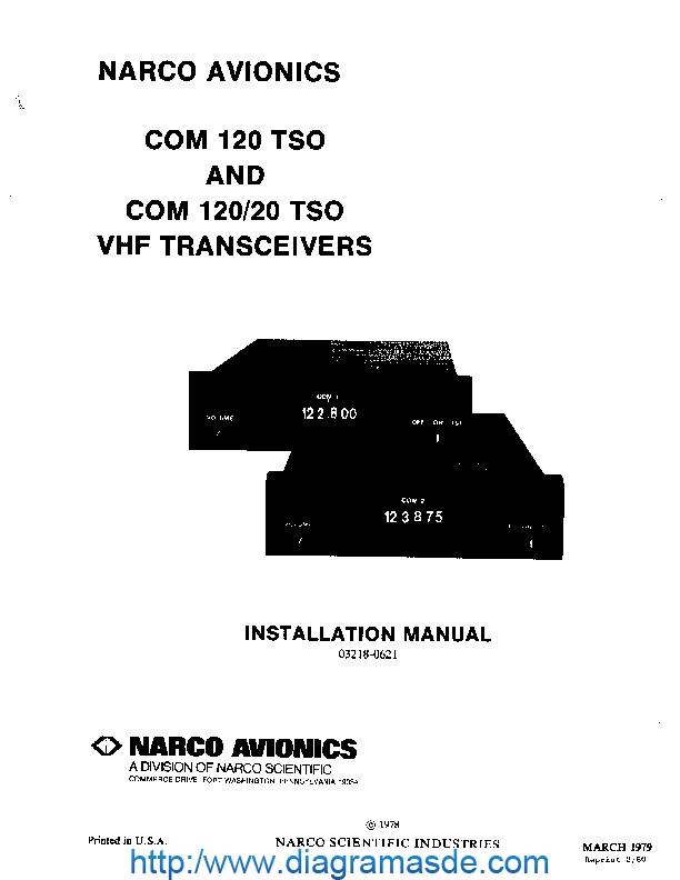 COM120-Manual.pdf Narco Avionics Narco Com 120