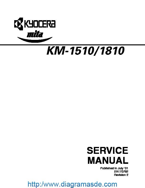 KM1510-1810ENSMR2.pdf kyocera mita KM-1510, KM-1810
