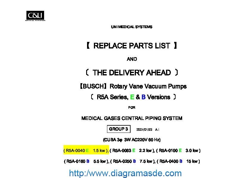 Sistema de vacio 1.5 KW.pdf Sistema de Vacio 1.5 KW