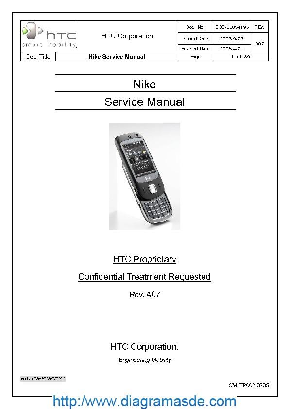 HTC Niki Manual de Servicio pdf HTC Niki Manual de
