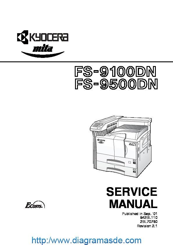 Kyocera 9100 9500 Service Manual pdf Kyocera 9100 9500