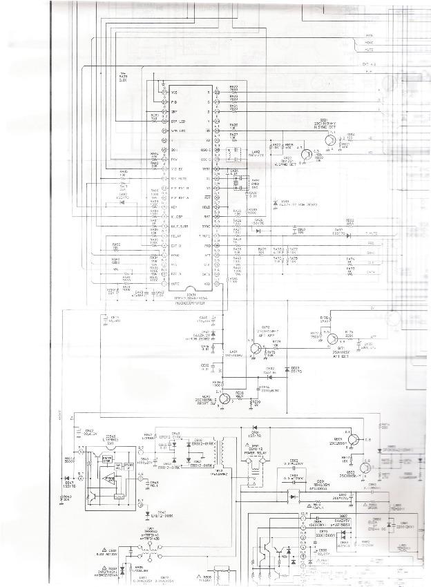 toshiba cf2771a tac 9161 tmp47c834n-r054.pdf Toshiba