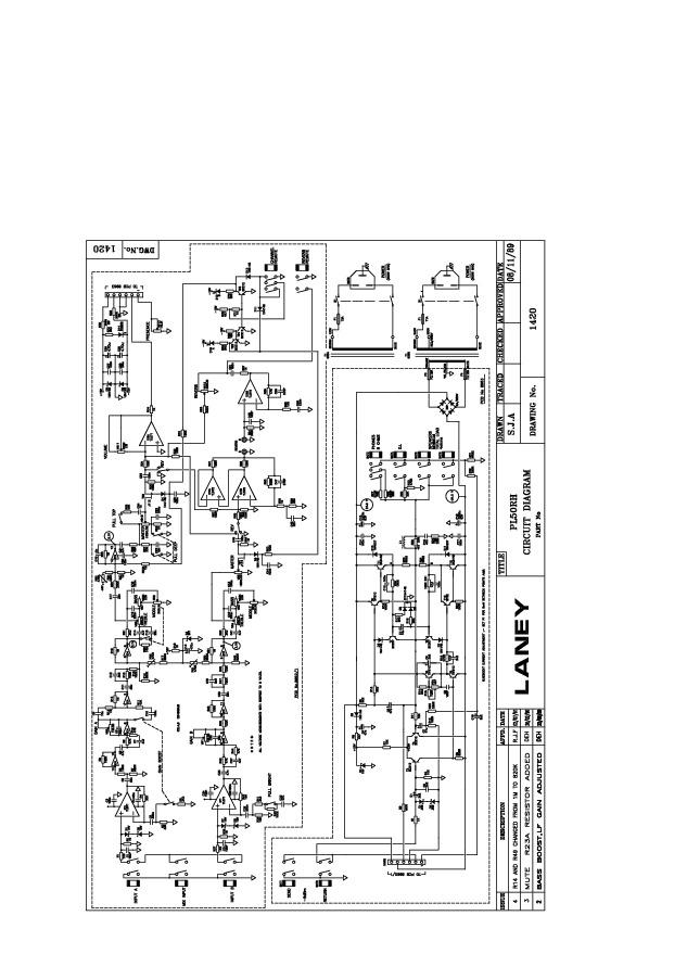 Laney Schematics Audio Amplifier Pl50rh Schematic.pdf