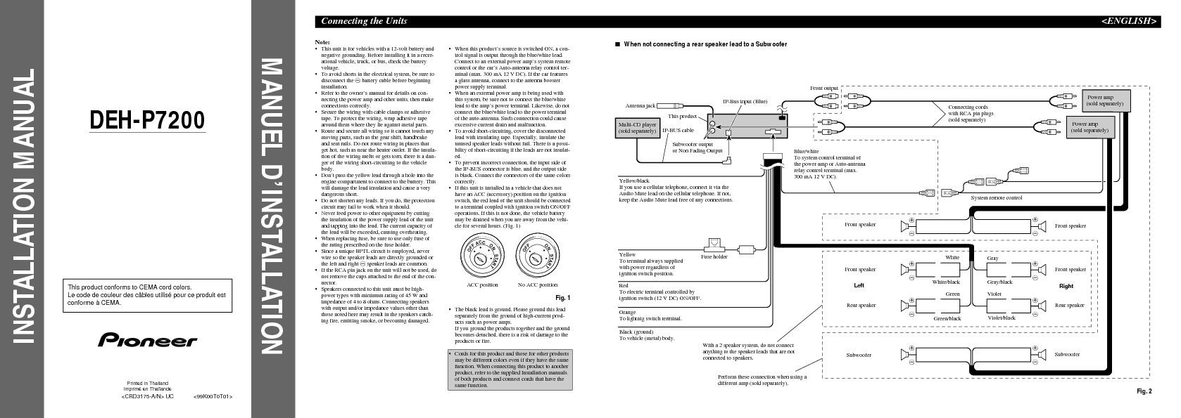 DEH-P7200 Install Manual.pdf PIONEER