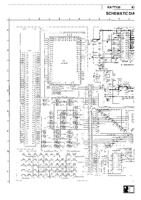 Panasonic Diagrama Esquematico Telefono T7130.pdf