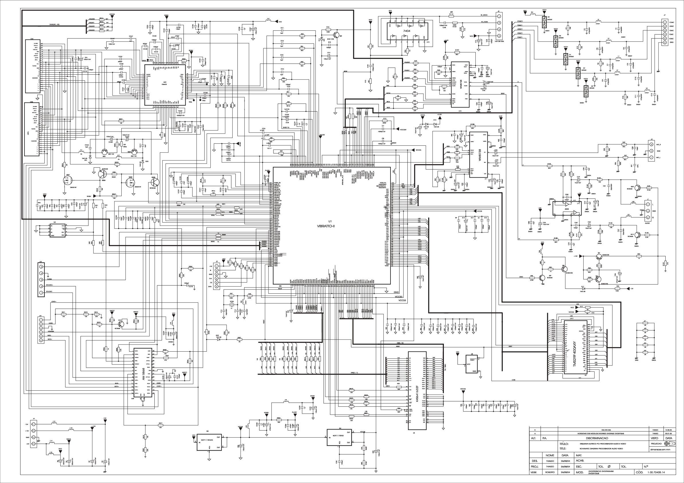 CCE DVD-2970D Diagrama Esquematico.pdf CCE