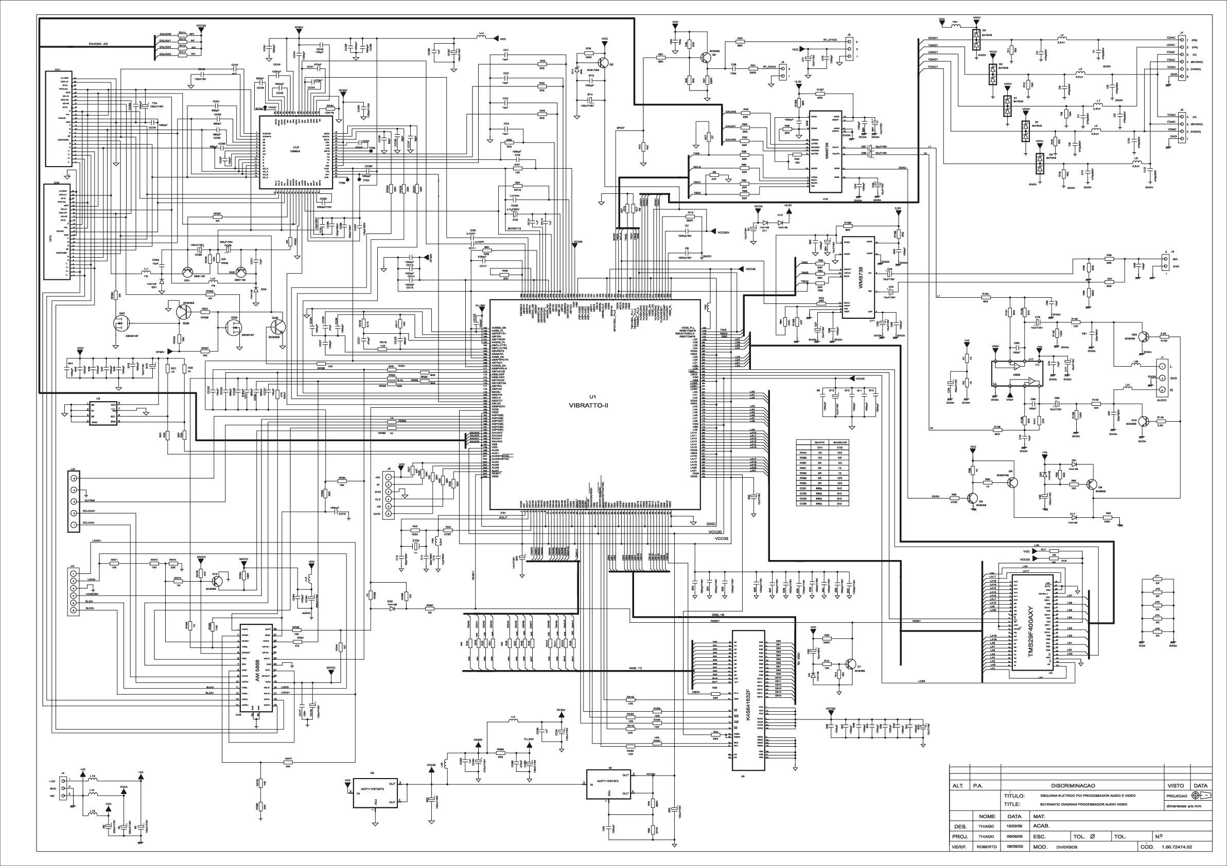 CCE DVD-5100 Diagrama Esquematico.pdf CCE