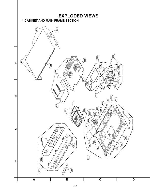 DVD Recorder LG LRM-519 Diagrama de Ensamblaje.pdf LG