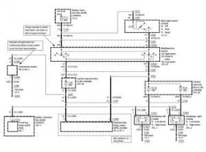 03 04 2003 2004 Cobra Mustang Head Lights Wiring Diagram