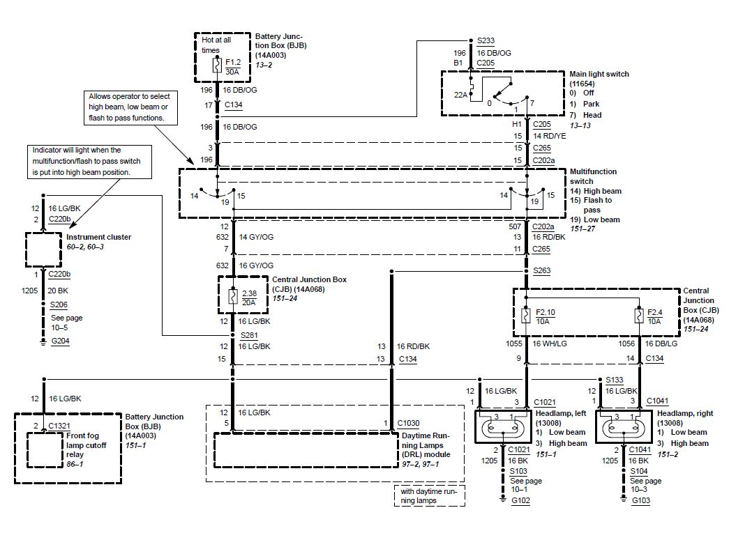 03 04 Cobra Head Lamp Wiring Diagram