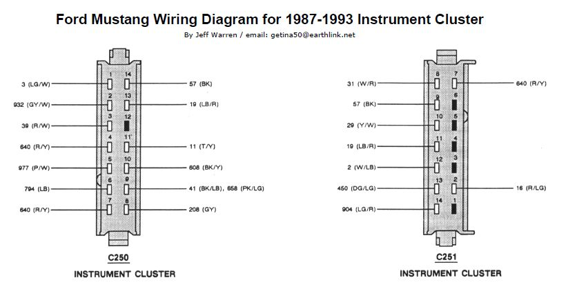 93 Mustang Wiring Diagram
