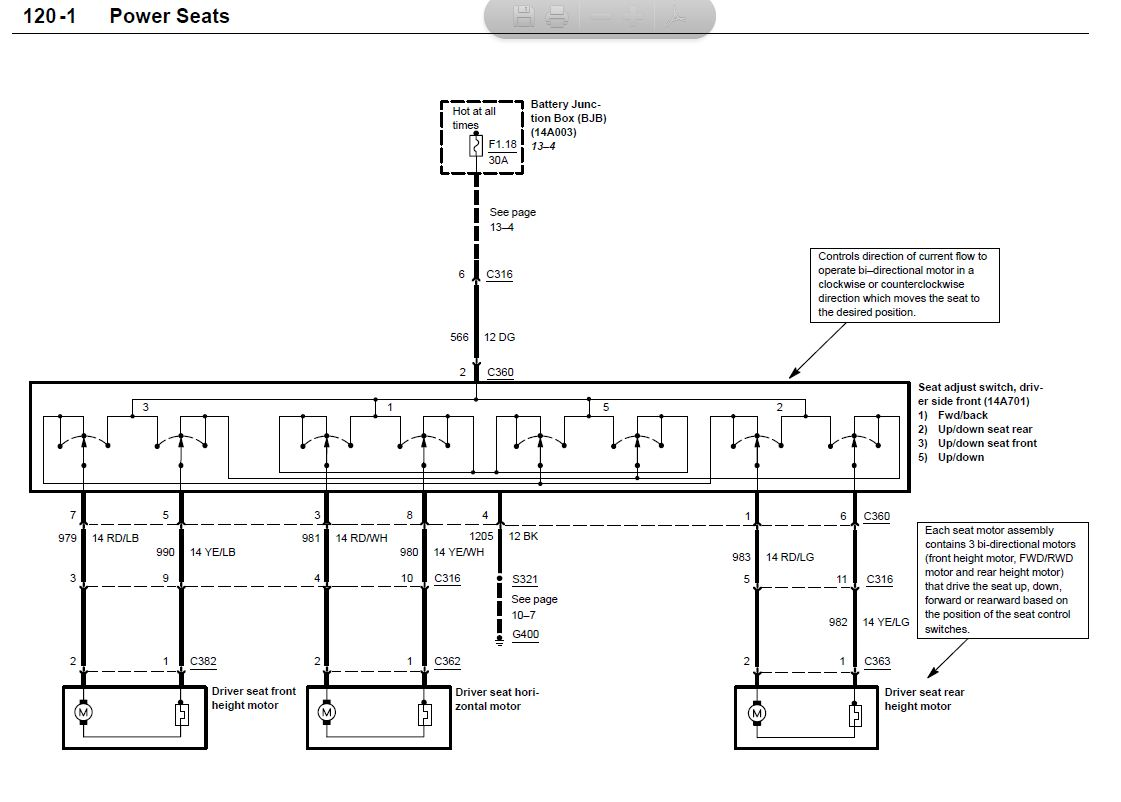 cobra seat wiring diagram