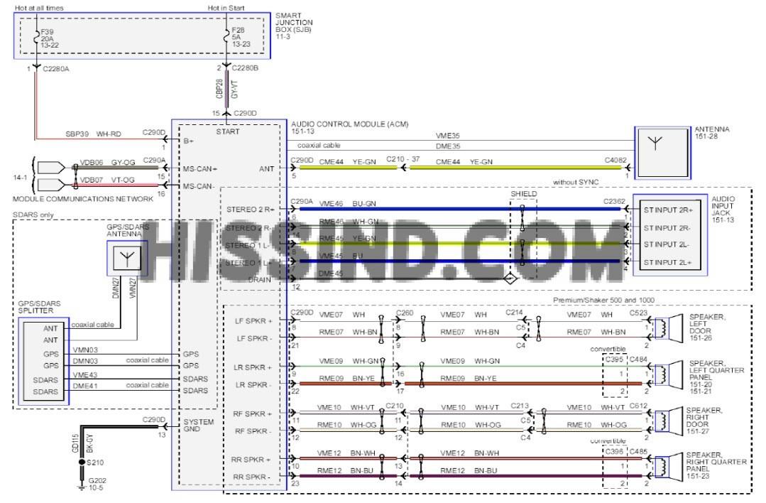2013 Mustang Wiring Diagram - Wiring Diagram Review on