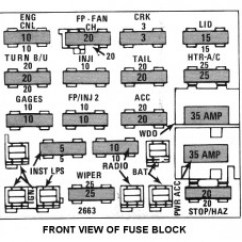 01 Ford F150 Fuse Diagram 4g91 Carburetor Wiring 84 Camaro Box