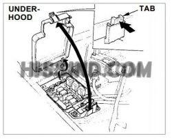 1992-1997 Honda Civic Del Sol Fuse Box Diagram