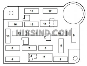 Fuse Box Ford 2003 Crown Victoria Diagram