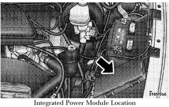 2008 Dodge Ram Fuse Box Diagram Under Hood Location