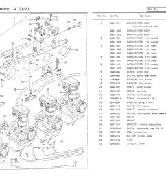 kz650 info b1 parts diagram kz650 parts diagram 1977 kz650 b1 parts diagrams [ 1214 x 860 Pixel ]
