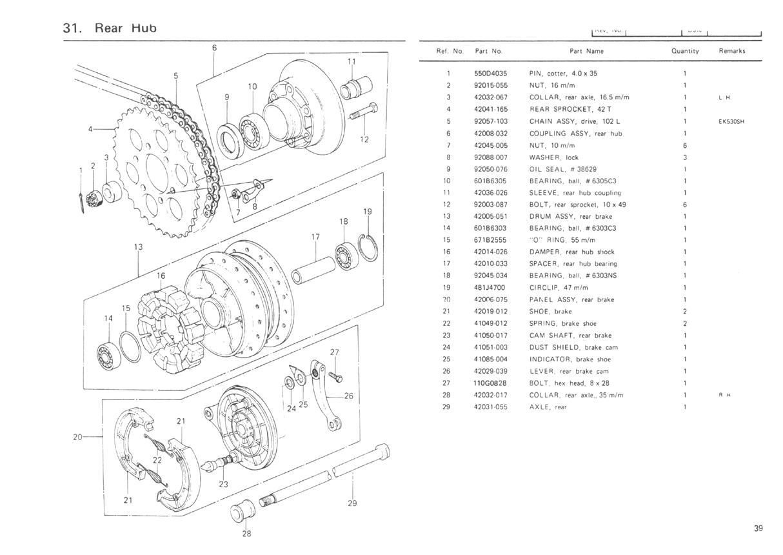 hight resolution of 1977 kz650 b1 parts diagrams