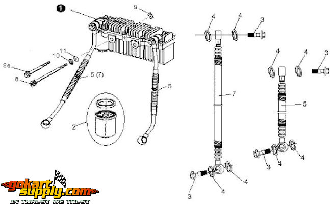 150cc Fox Carbide Go Kart 7150 Wiring Diagram