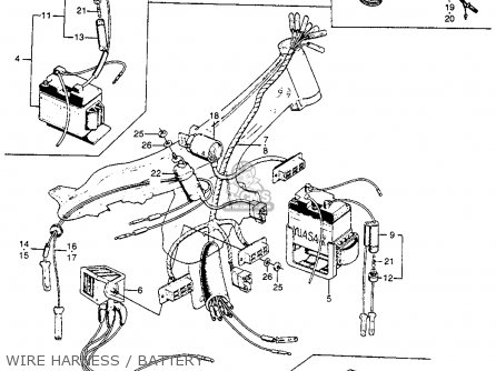 1964 Honda Ct200 Trail90 Wiring Diagram