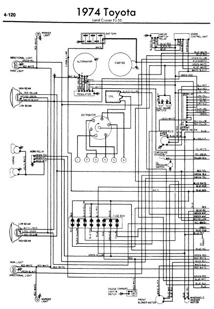 1974 Fj40 Wiring Diagram