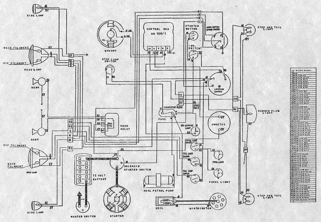 1979 Db V8 Aston Martin / Wiring Diagram