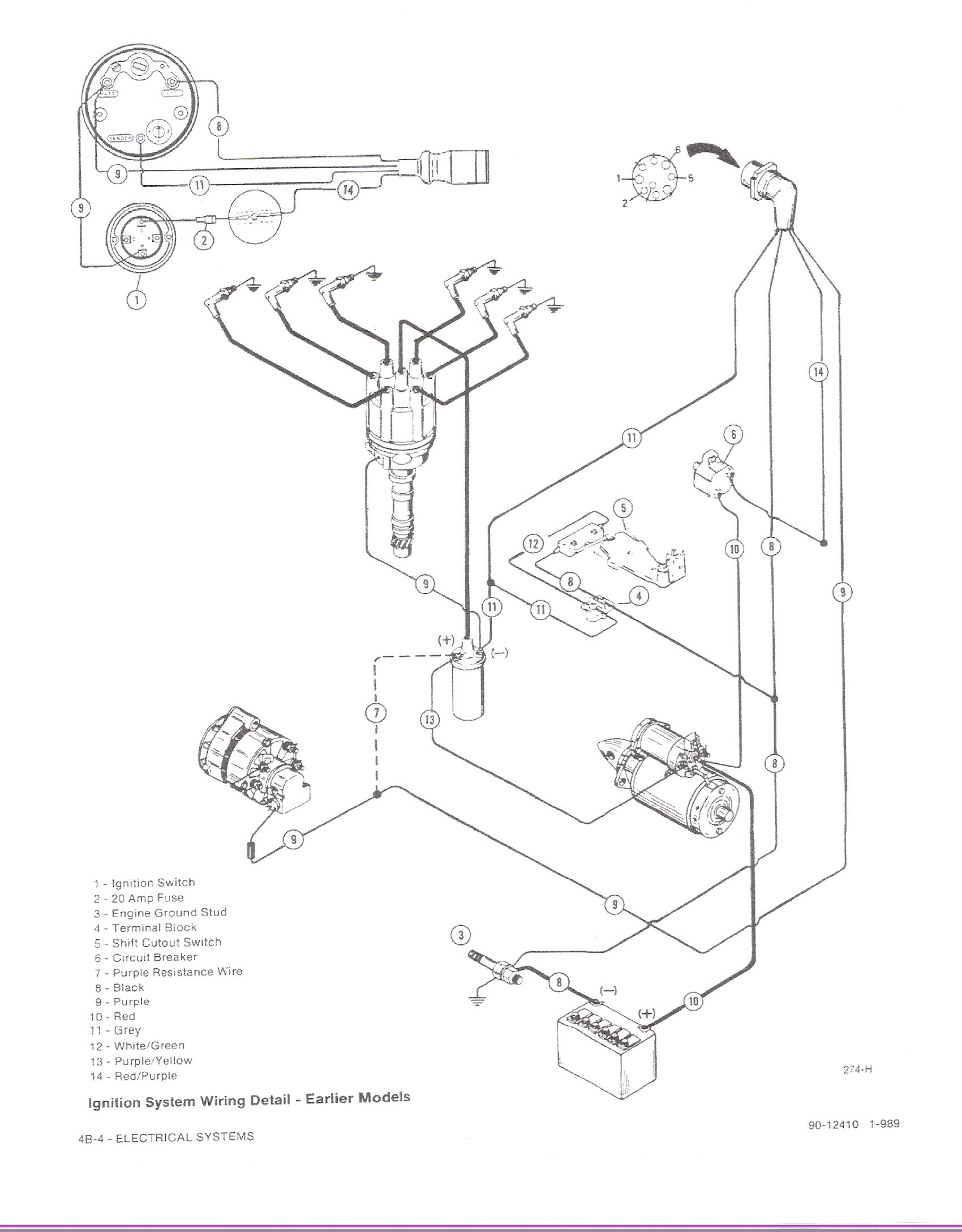 Sea Ray 4 3 Ignition Wiring Diagram