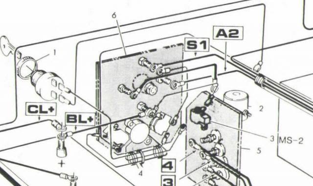 1989 Gas Marathon Gx444 2-cycle Wiring Diagram