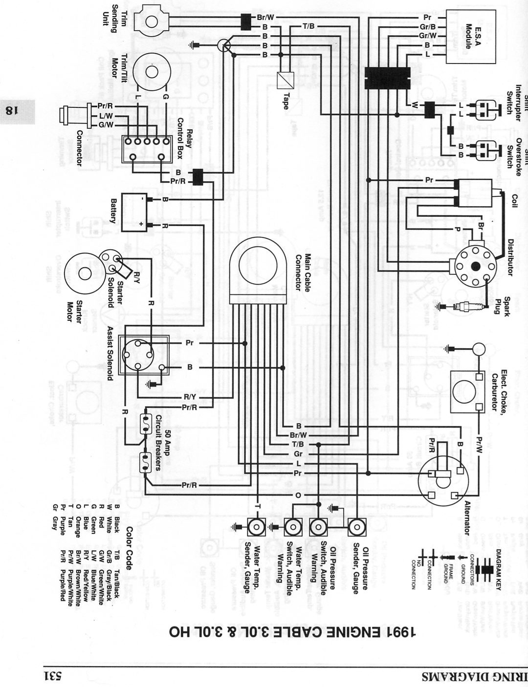 1989 Omc Cobra Wiring Diagram