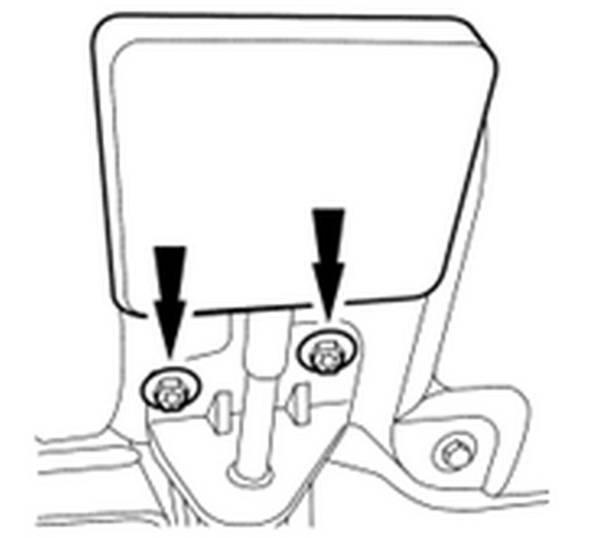 1998 Ford Explorer Hood Latch Diagram