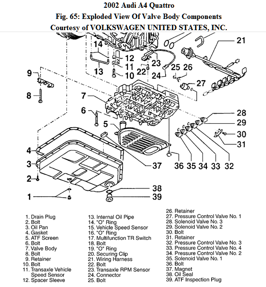 2 Wire Speed Sensor Wiring Diagram For Audi A4 Quattro 3.0