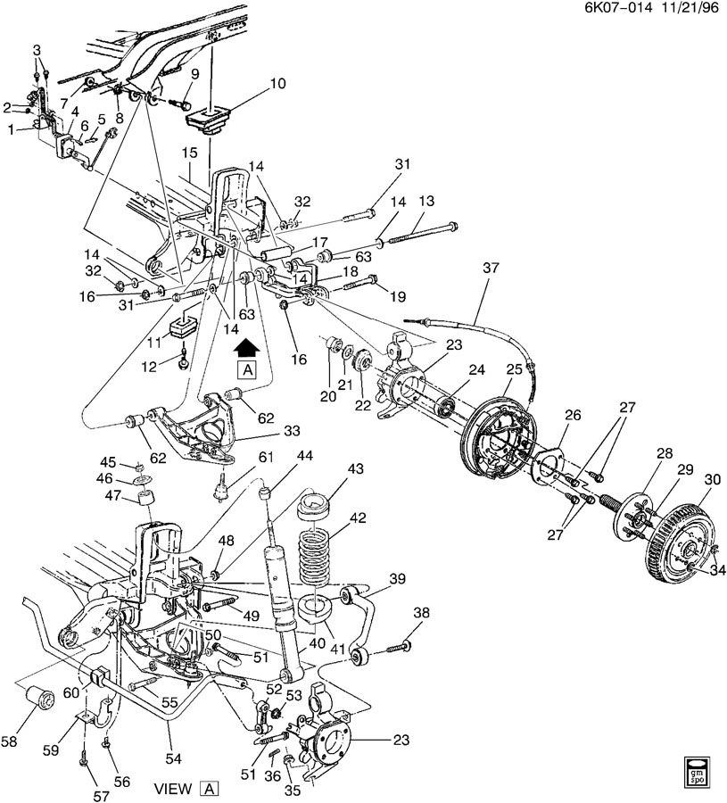 2001 Cadillac Deville Rear Suspension Sensor Wiring Diagram