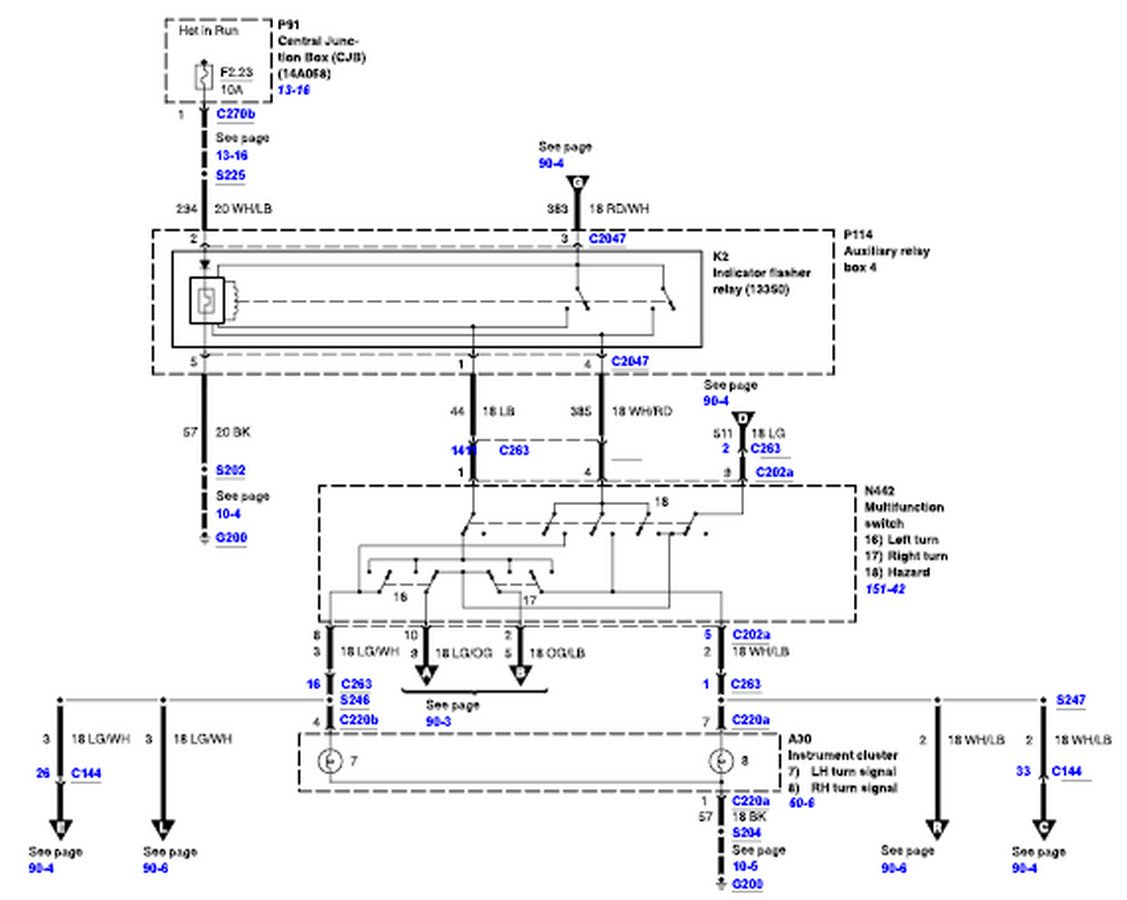 hight resolution of 2001 ford f150 starter wiring diagram