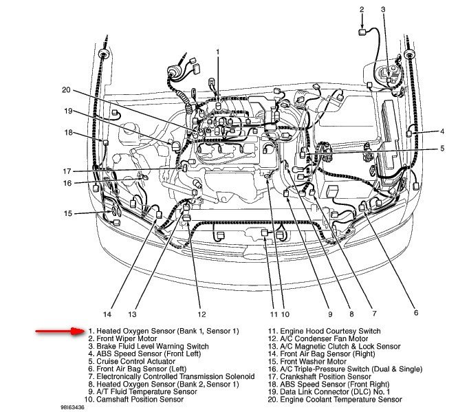 2002 Sienna Wiring Diagram Sesnor Bank 1