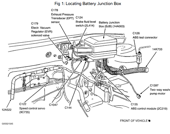 2003 Ford Focus Ztw 2.3l Wiring Diagram