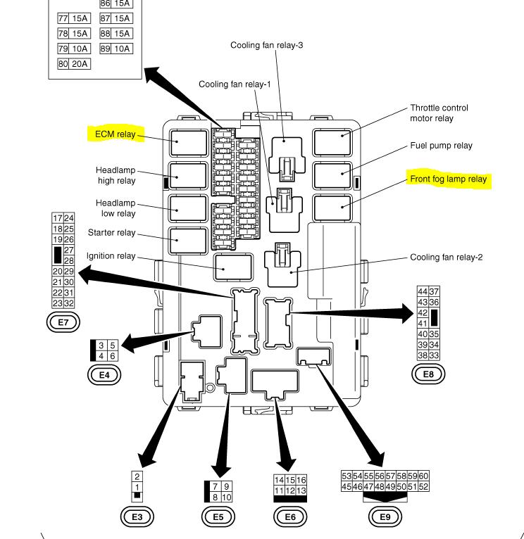 2004 Nissan Murano Ecm Wiring Diagram