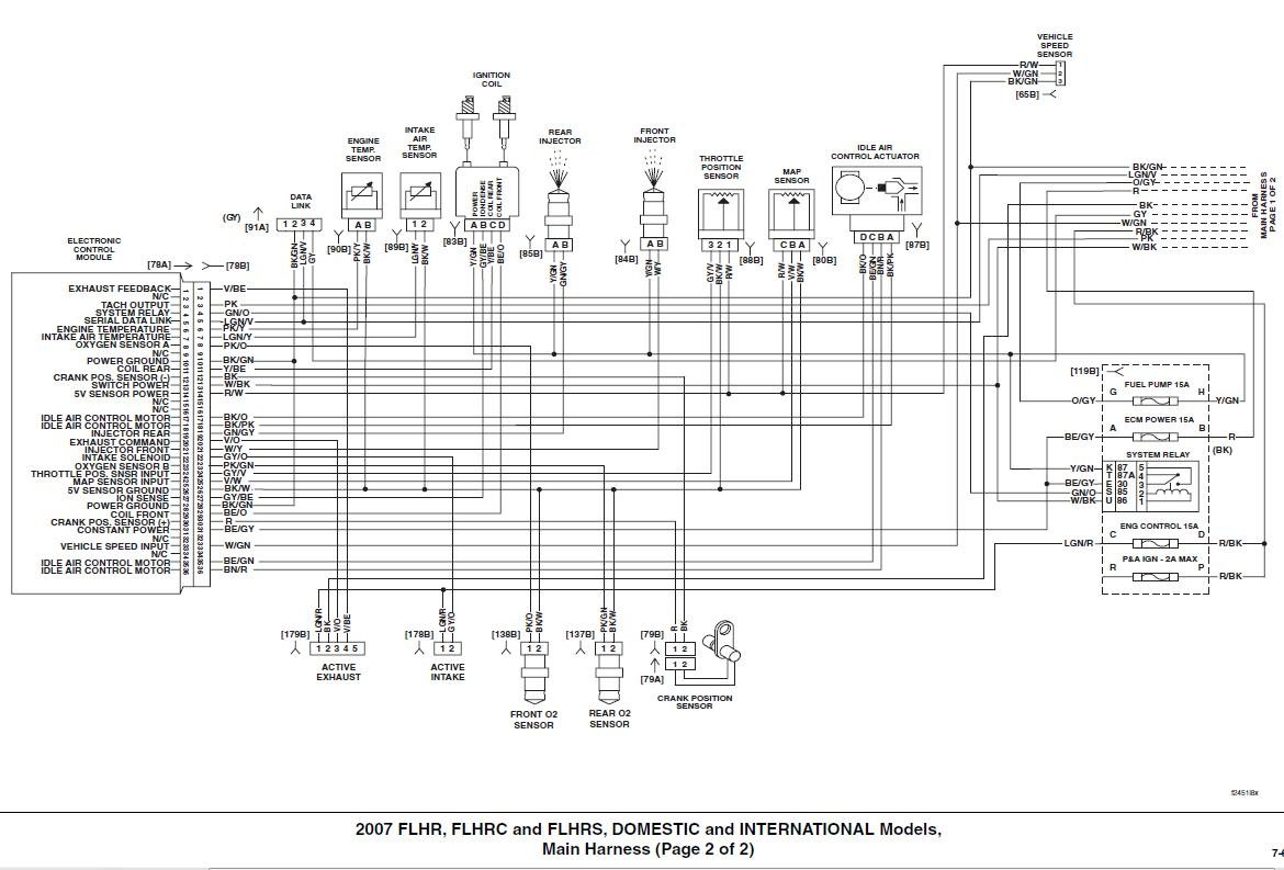 2004 Road King Flhrs Wiring Diagram