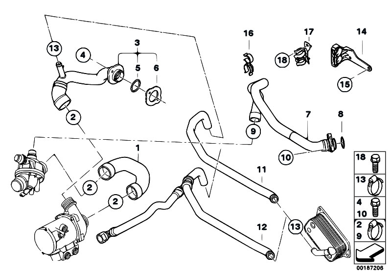 2006 Bmw 330i Serpentine Belt Diagram