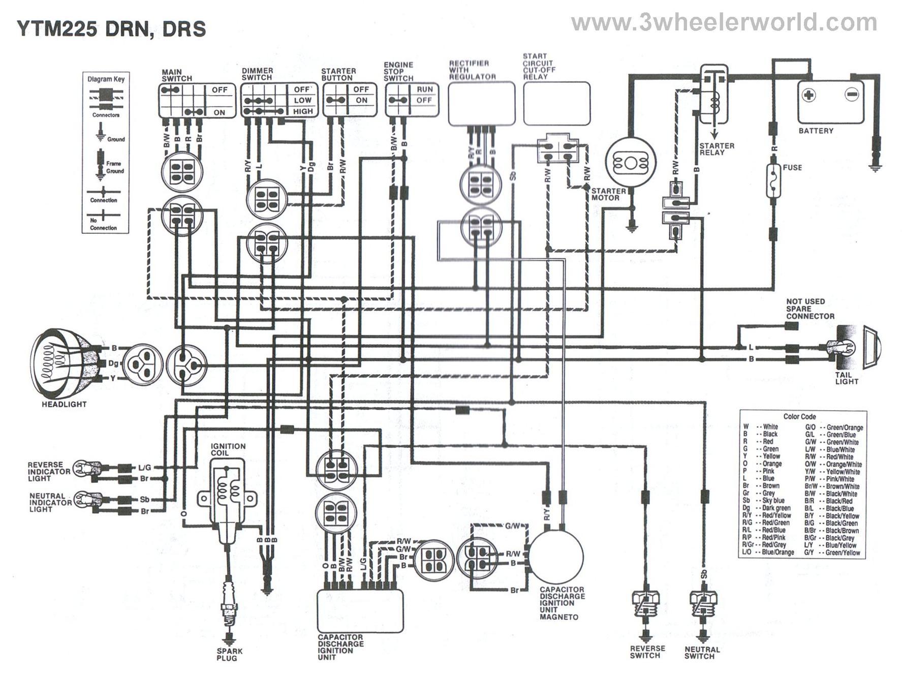 hight resolution of 06 yamaha kodiak wiring diagram