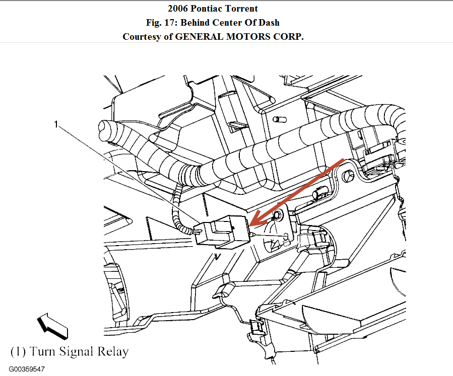 2006 Pontiac Torrent Behind Dash Wiring Diagram