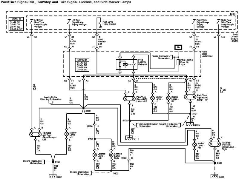 2008 Chevy Hhr Turn Signal Wiring Diagram Bulb